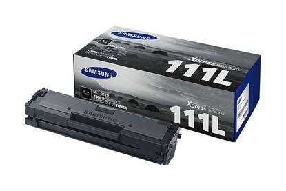 Picture of Samsung MLT-D111L High Yield Black Original Toner Cartridge (MLT-D111L/ELS Laser Toner)