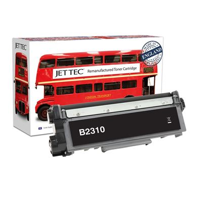 Picture of Jet Tec Recycled Brother TN-2310 Black Toner Cartridge