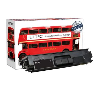 Picture of Jet Tec Recycled Brother TN-326BK High Yield Black Toner Cartridge
