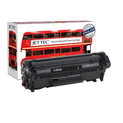 Picture of Jet Tec Recycled Canon FX-10 Black Toner Cartridge