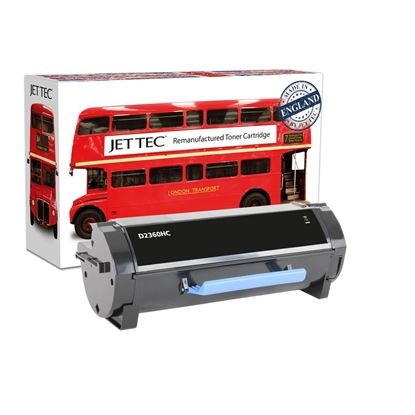 Picture of Jet Tec Recycled Dell 1V7V7 High Yield Black Toner Cartridge