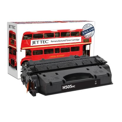 Picture of Jet Tec Recycled HP 05X High Yield Black (CE505X) Toner Cartridge