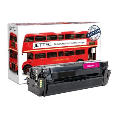 Picture of Jet Tec Recycled Samsung CLT-M506L High Yield Magenta Toner Cartridge