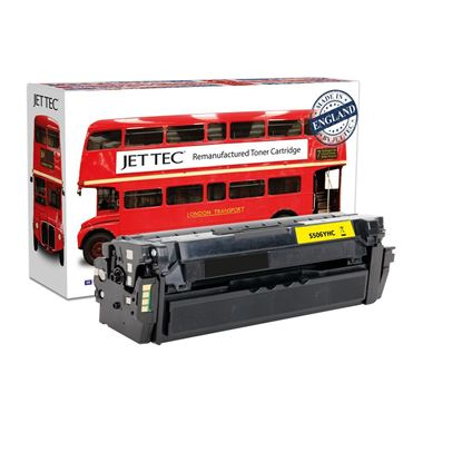 Picture of Jet Tec Recycled Samsung CLT-Y506L High Yield Yellow Toner Cartridge
