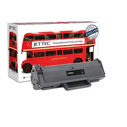 Picture of Jet Tec Recycled Samsung MLT-D1042S Black Toner Cartridge