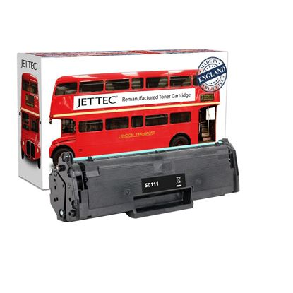 Picture of Jet Tec Recycled Samsung MLT-D111S Black Toner Cartridge