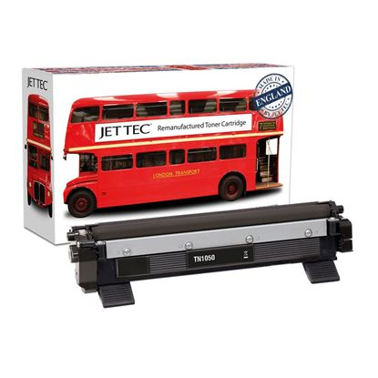Picture of Jet Tec Recycled Brother TN-1050 Black Toner Cartridge