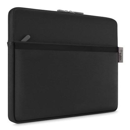 "Picture of Belkin 12"" Black Neoprene Pocket Sleeve"