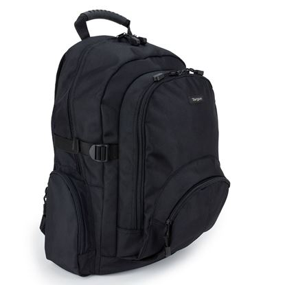 """Picture of Targus Classic 15.6"""" Black Laptop Backpack"""
