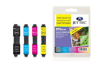 Picture of Jet Tec Recycled Brother LC985 Ink Cartridge Multipack