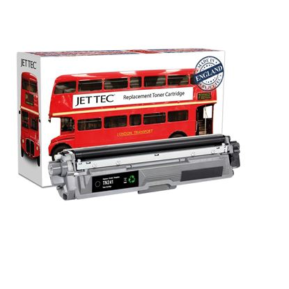 Picture of Jet Tec Recycled Brother TN-241BK Black Toner Cartridge