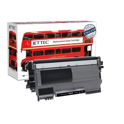 Picture of Jet Tec Recycled Brother TN-2220 High Yield Black Toner Cartridge