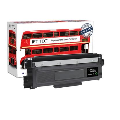 Picture of Jet Tec Recycled Brother TN-2320 High Yield Black Toner Cartridge