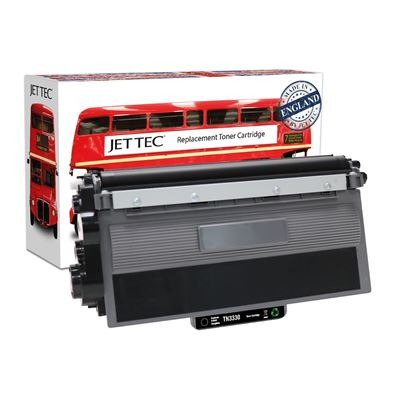 Picture of Jet Tec Recycled Brother TN-3330 Black Toner Cartridge
