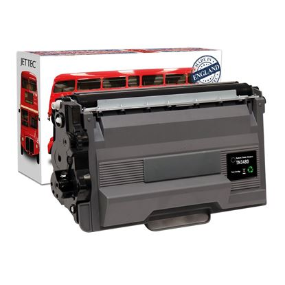 Picture of Jet Tec Recycled Brother TN-3480 High Yield Black Toner Cartridge