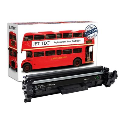 Picture of Jet Tec Recycled HP 17A Black (CF217A) Toner Cartridge