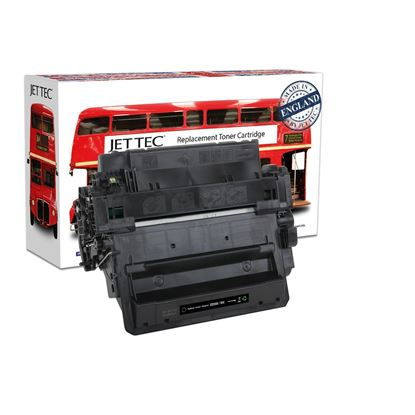 Picture of Jet Tec Recycled HP 55X High Yield Black (CE255X) Toner Cartridge