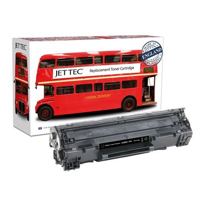 Picture of Jet Tec Recycled HP 85A Black (CE285A) Toner Cartridge