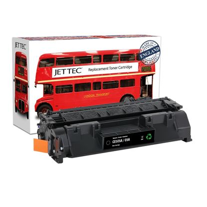Picture of Jet Tec Recycled HP 05A Black (CE505A) Toner Cartridge