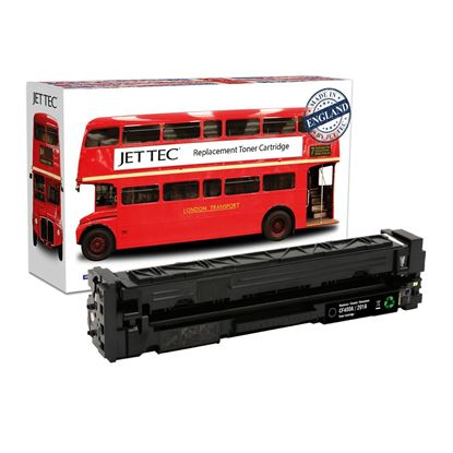 Picture of Jet Tec Recycled HP 201A Black (CF400A) Toner Cartridge