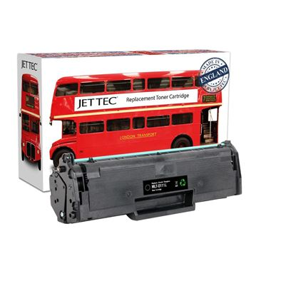Picture of Jet Tec Recycled Samsung MLT-D111L High Yield Black Toner Cartridge