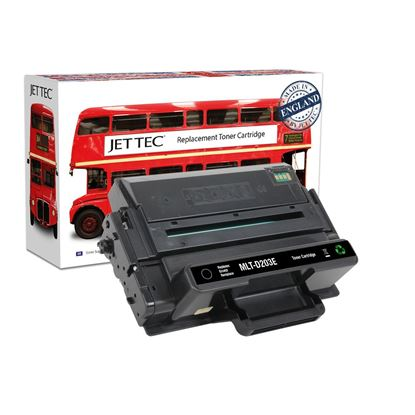 Picture of Jet Tec Recycled Samsung MLT-D203E Extra High Yield Black Toner Cartridge