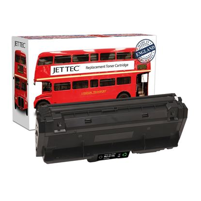 Picture of Jet Tec Recycled Samsung MLT-D116L High Yield Black Toner Cartridge